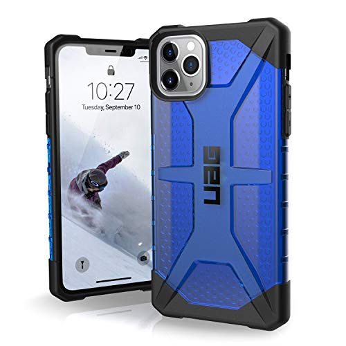 UAG Designed for iPhone 11 Pro Max [6.5-inch Screen] Plasma Feather-Light Rugged [Cobalt] Military Drop Tested iPhone Case