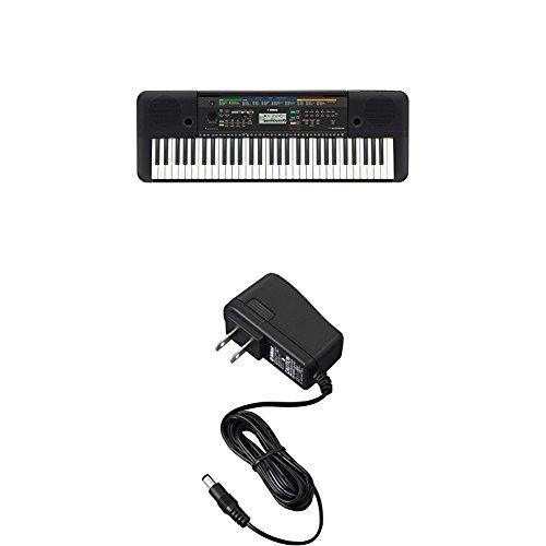 Yamaha PSR-E253 Portable Keyboard with Power Adapter by Yamaha