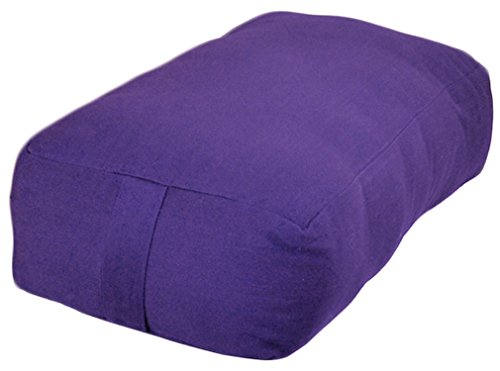 YogaAccessories Small Rectangular Cotton Bolster product image