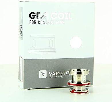 Pack de 3 resistencias 0.4 ohm GTM-2 Cascada Vaporesso: Amazon.es ...