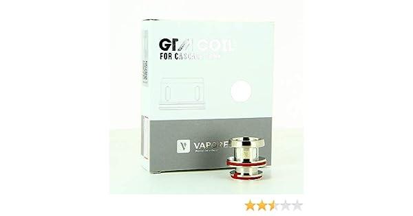 Pack de 3 resistencias 0.4 ohm GTM-2 Cascada Vaporesso: Amazon.es: Salud y cuidado personal