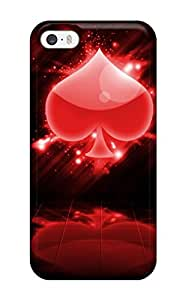 Hazel J. Ashcraft's Shop Christmas Gifts New Premium Poker Skin Case Cover Excellent Fitted For Iphone 5/5s