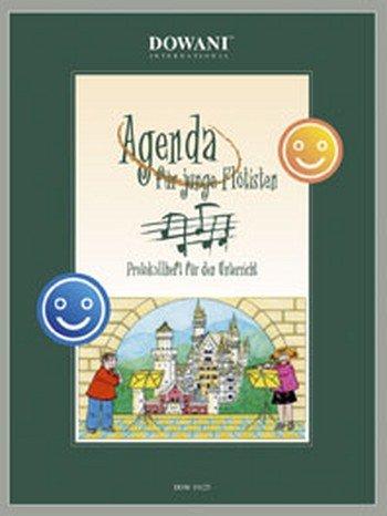 Agenda para niño flötisten Protocolo Cuaderno para las clases