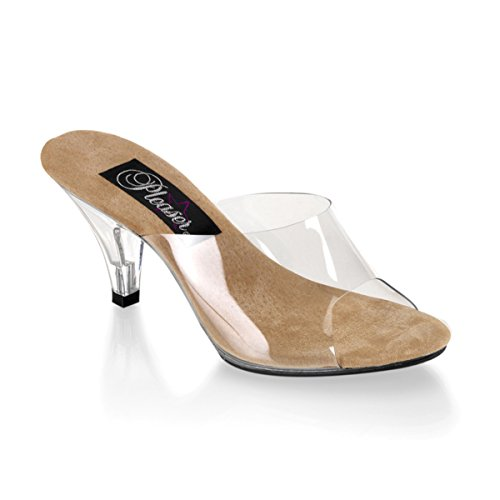 Clear Wedge High Heel - 6