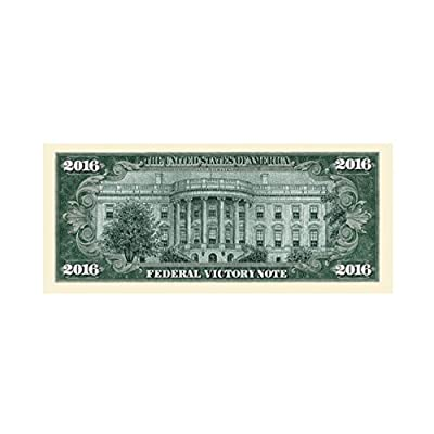 American Art Classics Pack of 5 - Donald Trump 2016 Federal Victory Limited Edition Presidential Dollar Bill: Toys & Games