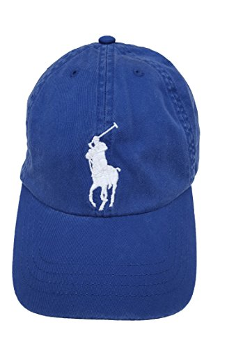 Polo Ralph Lauren Childrenswear Boys' 8-20 Big Pony Hat (8/20, Blue Yacht)
