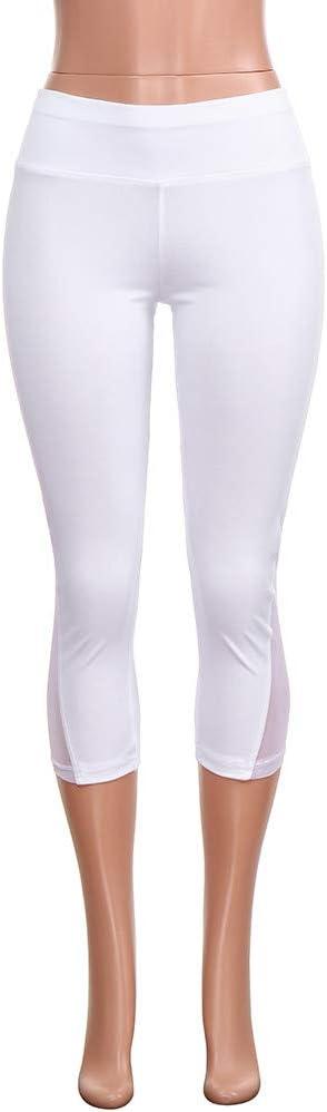 feiXIANG Donna Pantaloni Pantaloni da Yoga da Donna Leggings Sportivi Donna Esercizio Fisico Eleganti Yoga Leggings Fitness Palestra Leggins Elasticit/à Push Up Tuta Pantalone con Tasca
