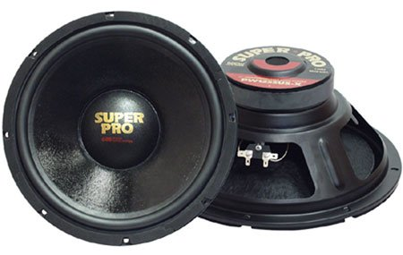 Rubber Surround 8 Ohm 175W Rms Woofer 8 Poly Coated Paper With Headphones