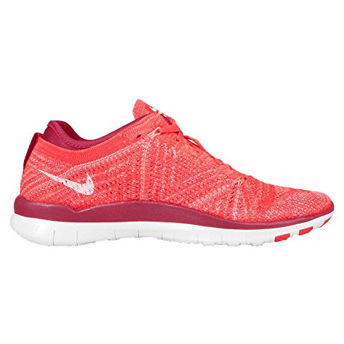 Nike Womens Free TR Flyknit Running Shoes (10, BRIGHT CRIMSON/WHITE-PRM RD-ATOMIC)