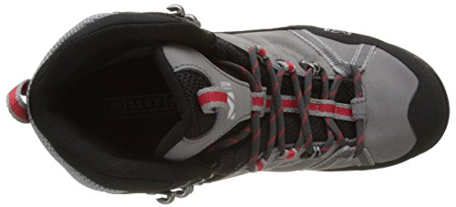 Millet Ld Route G, Zapatos de High Rise Senderismo para Mujer Rosa (Rouge Hibiscus/gris Heather Grey)