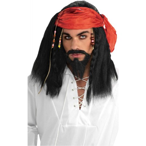 South Seas Buccaneer Wig Costume (South Seas Pirate Costumes)