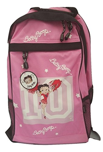 Betty Boop , Damen Rucksackhandtasche weiß rose