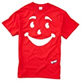 Kool-Aid Man Face Licensed Red Adult T-Shirt (XX-Large)