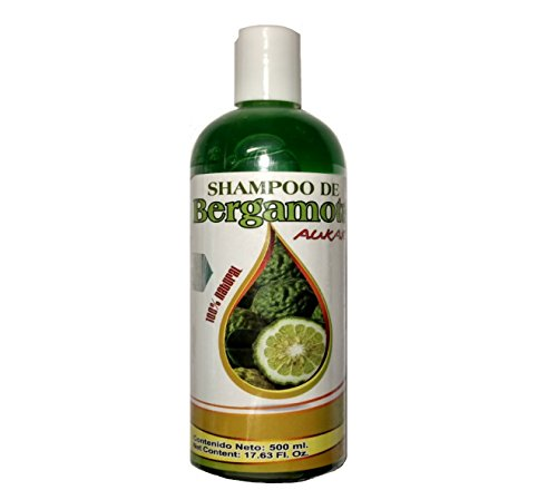 Price comparison product image Bergamot Shampoo AUKAR 500ml, Shampoo de Bergamota 500ml. Hair Regrowth Shampoo