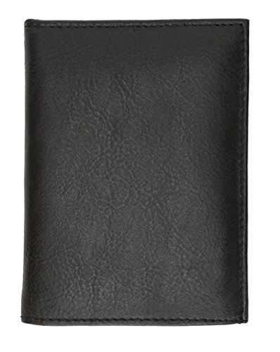 (YBMDESIGNINC Tri Fold Police Wallet with Badge Holder, black, 4 3/4 X 3 1/2)