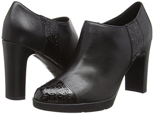 Donna black Tacco Geox Scarpe Nero Con D Annya High D C9999 w0nqCpw6