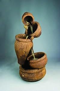 Henri Studio Balancing Act Fountain - Stone Finish