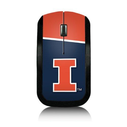 Illinois Usb - Keyscaper Illinois Fightin' Illini Wireless USB Mouse NCAA