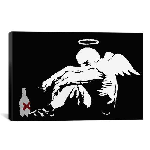 iCanvasART Drunken Angel Banksy Canvas product image