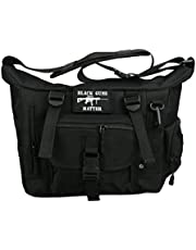 JFFCESTORE Multifunction Tactical Messenger Bag Military Briefcase Shoulder Bag Cross Body Bag Sling Bags for Hunting Camping Trekking