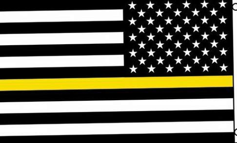 Kaputar Thin Yellow Line Flag 3x5 American Flag Tow Truck Drivers 3 x 5 Operator Flatbed | Model FLG - 6304