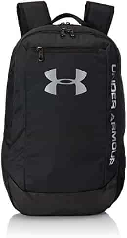 Under Armour Hustle LDWR Backpack One Size Black Black Silver