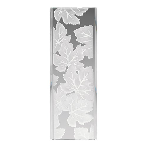Kichler Lighting  4083 Glass Maple Leaves Panel, Frosted