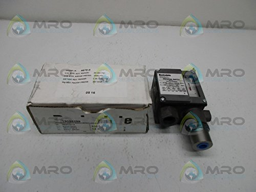 BARKSDALE 9675-0 PRESSURE SWITCHNEW IN BOX