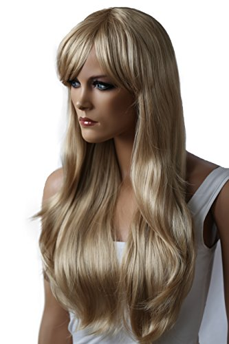 PRETTYSHOP Unisex Full Wig Long Hair Straight / Smooth Party Cosplay 41ufbt4mvmL