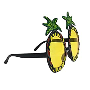 Kinghard 12 x Pineapple Glasses ,Hawaiian Costume Fancy Dress Accessories Party Sunglasses