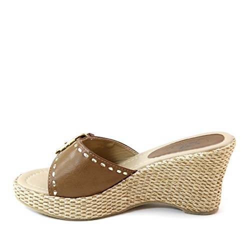 Sandalen Taupe Marco Trapu czRe8BNH