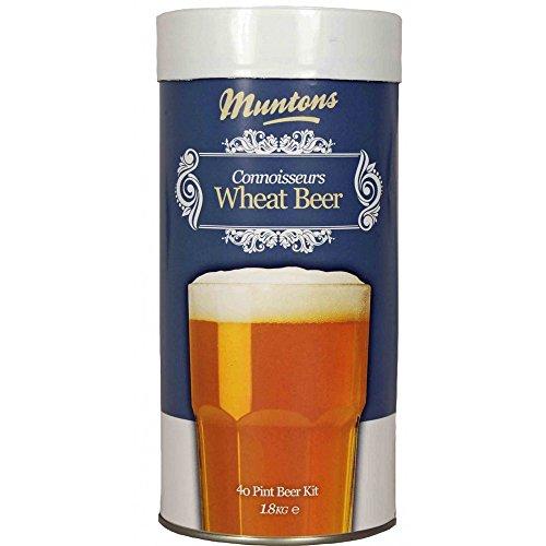 Muntons Connoisseurs Range 40 Pint Wheat Beer Kit, (Muntons Beer Kit)