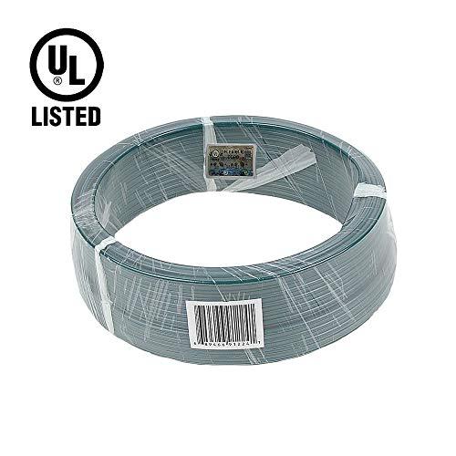 Novelty Lights 100 Foot Zip Cord Wire, Green, 18 Gauge, SPT-