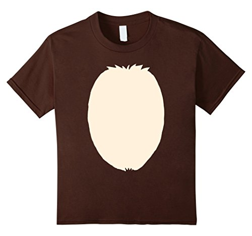 Homemade Halloween Costumes For Girls (Kids Christmas Reindeer Halloween Costume DIY Idea T-Shirt 10 Brown)