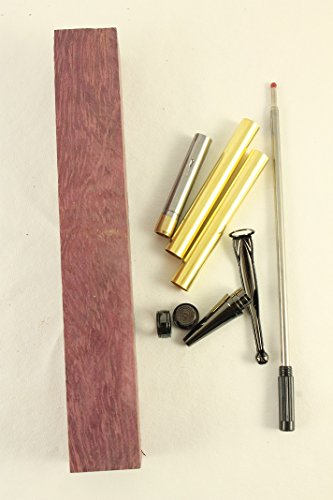 - Payne Bros Custom Knives 7mm pen wood turning kit GUN METAL/CRAFT SUPPLIES/PAYNE BROS (PURPLE HEART)
