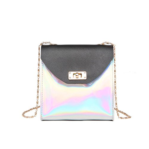 Bag Phone Bag Gray Shoulder Bag YJYDADA Bag Messenger Bag Fashion Crossbody Black Coin Women qBTwn0a4