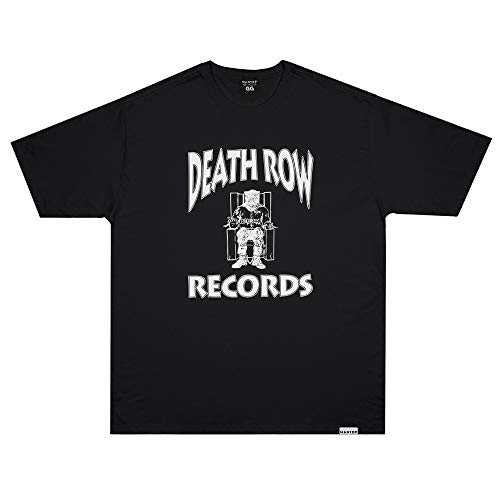 Camiseta Wanted - Death Row preto Cor:Preto;Tamanho:GG