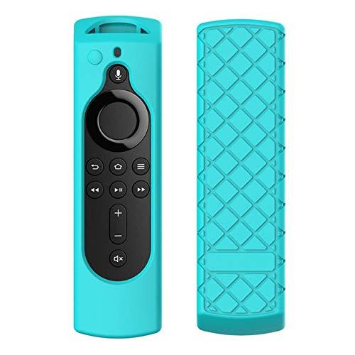 XuBa For Amazon Fire TV Stick 4K TV Stick Remote Silicone Case Protective Cover green