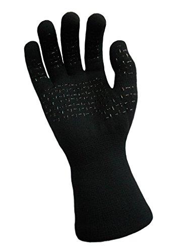 DexShell Thermfit Merino Wool Waterproof Breathable Gloves, Black, Medium by DexShell