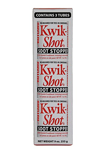 Kwik-Shot Soot Stopper, 3 oz. Toss-In Canister (3-Pack) - Kwik Shot Soot Stopper