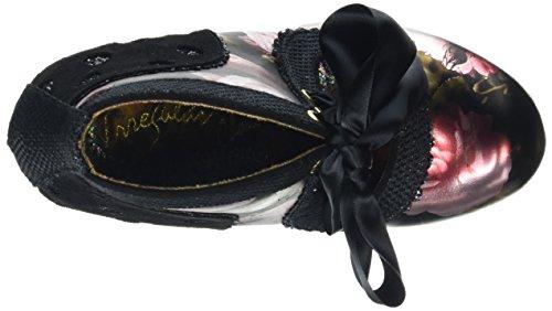Negro Zapatos Mujer Choicejuliet Irregular De Tacón 4qxw6PXw5