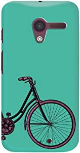 DailyObjects PaddleUp Vintage Cycle Case For Motorola Moto X