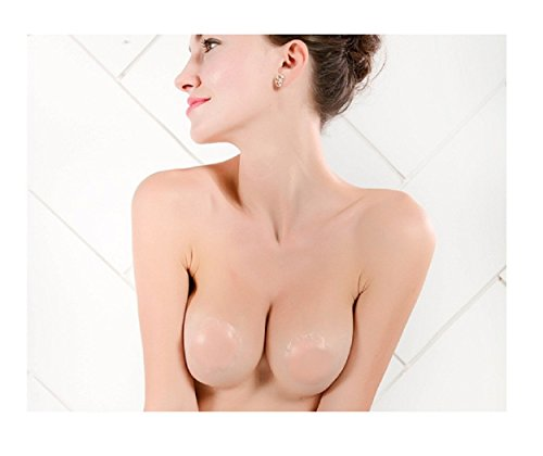 HOT Sale! Silicone Nipple Cover Heart Shape Bra Pad Skin Adhesive Reusable Invisible Breast - Goggles Strapless