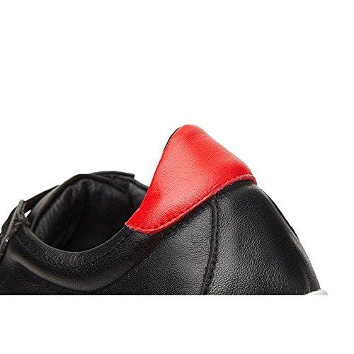 Tacco Stile KJJDE A0420 Piattaforma Black Suola WSXY Spessa Romano Zeppa Donna nF1q6xXfw