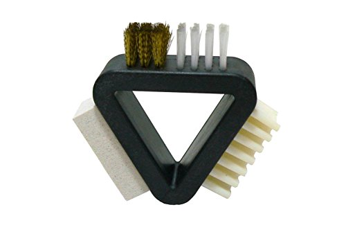 Cleaning Suede Brush - 3 Way Remover for Shoes, Boots, Couches, Purse, Bags, Jackets, (Valentino Suede Leather)