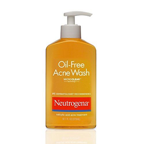 Neutrogena Oil-Free Acne Wash, 9.1 Oz (P