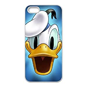 Donald Duck iPhone 4 4s Cell Phone Case White yyfabc-445478