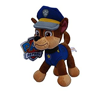 Chase Perro Policia 35cm Muneco Peluche Patrulla Canina Serie Tv