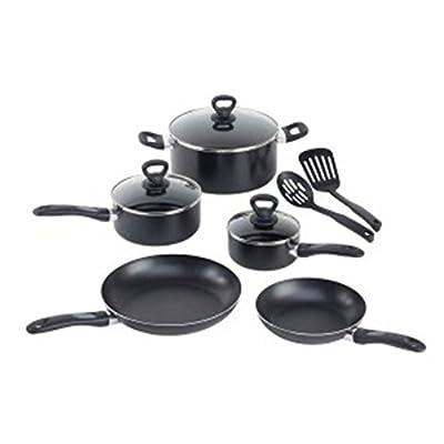 T-fal WearEver A801SA64 Comfort Grip 10-Piece Cookware Set