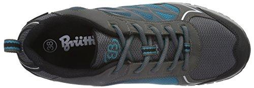 Bruetting Valley, Zapatos de Low Rise Senderismo para Mujer Gris (GRAU/TUERKIS)
